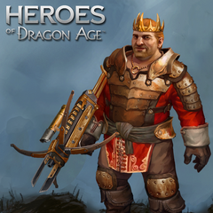 Varric als Viscount in Heroes of Dragon Age