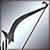 Короткий лук серебряный