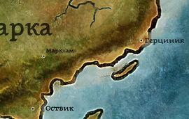 Маркхэм карта