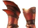 Превосходные тяжелые перчатки Вейда из драконьей чешуи