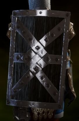 Шипастый осадный щит