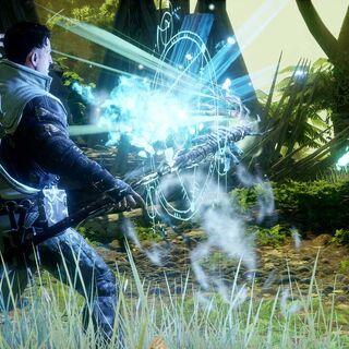 Dorian casting a spell
