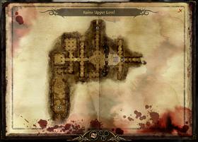 Map-Ruins Upper Level