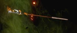 Огненный посох послушника