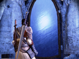 Зеркало в эльфийских руинах