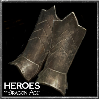 Duster Greaves in <i>Heroes of Dragon Age</i>