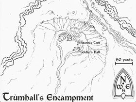 Лагерь Трумхолла карта