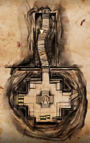 Das Schwarze Emporion - Karte