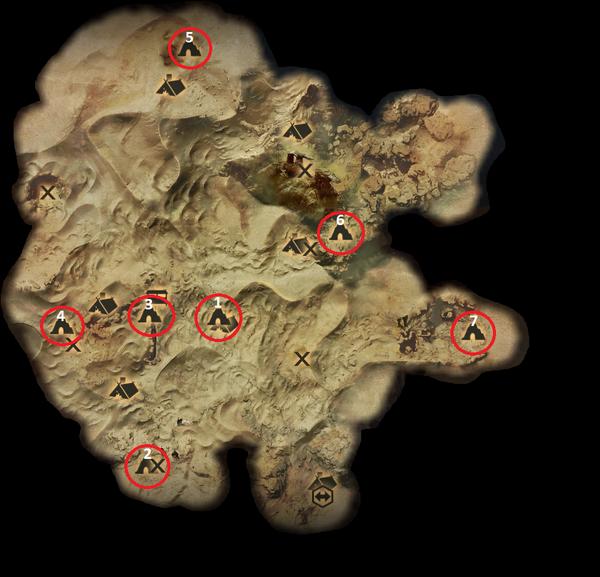 Fauchende Ödnis - Die Gräber von Fairel