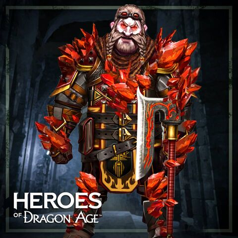 Red Lyrium Bartrand in <i>Heroes of Dragon Age</i>