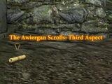 The Awiergan Scrolls: Third Aspect