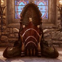 Drachenschlund-Thron, komplett