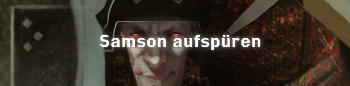 Samson aufspüren - Font