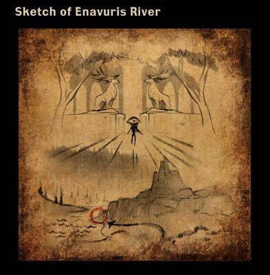 Sketch of Enavuris River