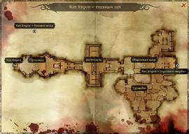 Карта главного зала Кэл Хирола