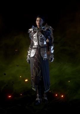 Доспех рыцаря-храмовника (Кассандра)
