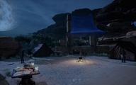 Lager bei der Bucht