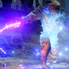 Pride Demon Single Whip Attack as seen in <i>Dragon Age: Inquisition</i>
