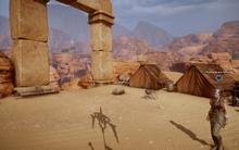 Wüstenlager