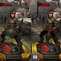 Tier progression of a Cultist Overseer in <i>Heroes of Dragon Age</i>