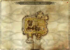 Map-Arl of Denerim's Estate - Exterior