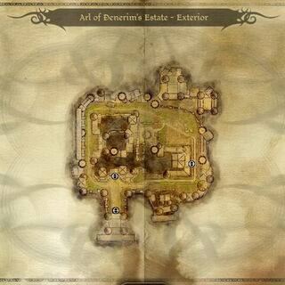 Karte des Anwesens - Außenbereich