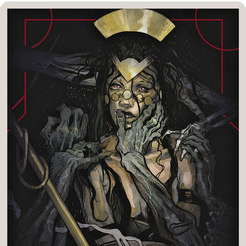 Necromancer Tarot Card