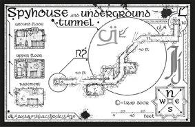 Дом шпионки карта
