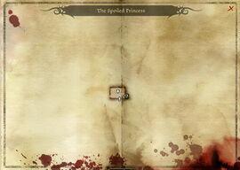 Карта Избалованной принцессы