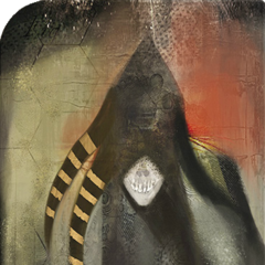 Tarotkarte des Dämons der Angst