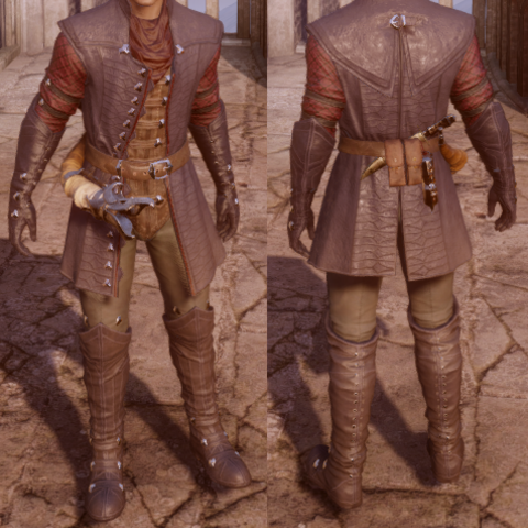 Male human version (with horn)