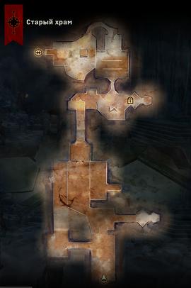 Карта старого храма