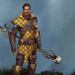 Promotional image of Legendary Plaidweave Dorian in <i><a href=