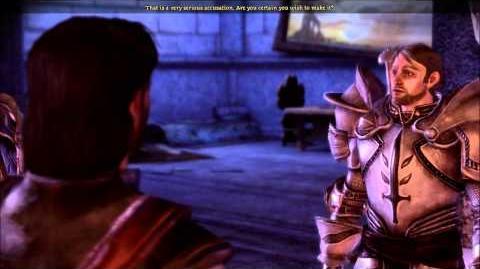 Dragon Age Morrigan & Templars (cut content)