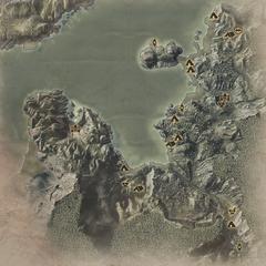 Karte Sturmküste