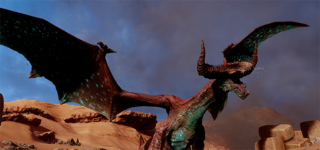 Глубинная высшая драконица1