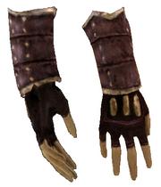 Клепаные перчатки