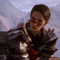 Female Hawke in Dragon Age: Inquisition