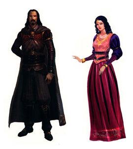 Ferelden noble dress