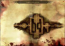 Эльфийские руины (карта)