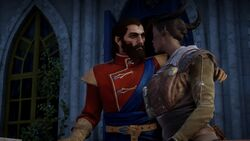 Blackwall mit Inquisitorin im Winterpalast