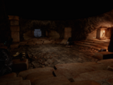 Die Tür in der Par'as-Höhle