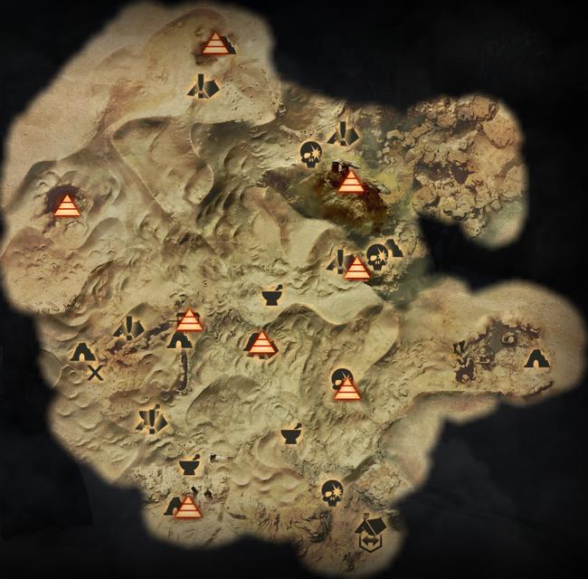 Sehenswürdigkeiten in der Ödnis - Karte