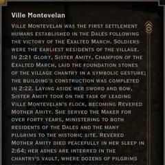 Ville Montevelan Landmark Text