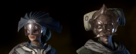 Традиционная маска Шалонов