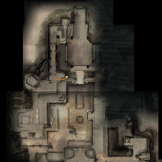 Adamant Fortress Upper Level Map