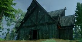 Cabin (A Glowing Key)