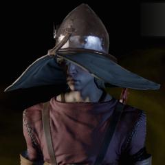 Coles charakteristischer Hut