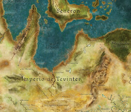 Tevinter Mapa
