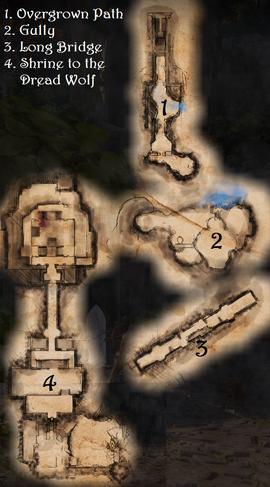 Elven Ruins - Map